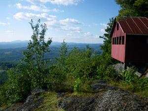 Hiking on Wright's Mountain, Vermont