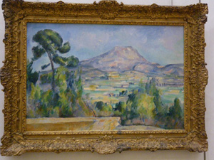 Cezanne at the Orsay