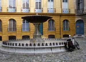 Fountain, Aix-en-Provence