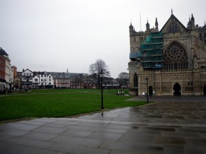 Exeter Cathedral & medieval buildings