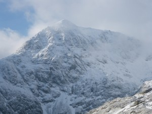 Mt. Snowdon, in North Wales