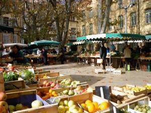 Produce Market in Aix-en-Provence
