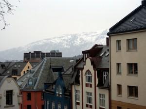 Ålesund's Art Nouveau Skyline