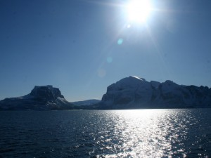 North of the Arctic Circle