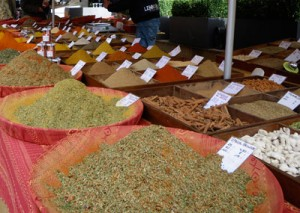 Spice Stall at French Market