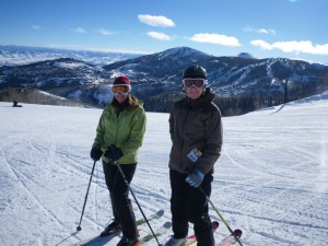 Skiing in Park City
