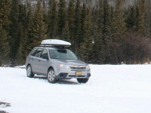 Forester with Rocket Box