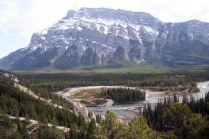 Bow River Banff NP