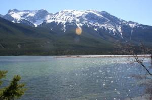 Lake in Jasper NP