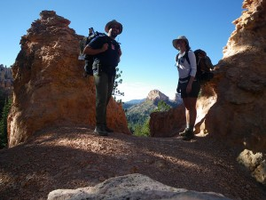 On the Under-The-Rim Trail
