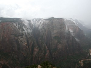 Clouds at Observation Point