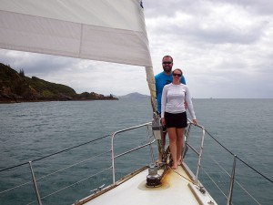 Sailing in New Zealand